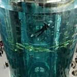 Аквариум AquaDomе в берлинском отеле Radisson
