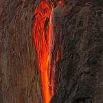 Огненный водопад - «Лошадиный хвост»