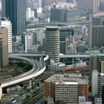 «Офисная» дорога в Осаке