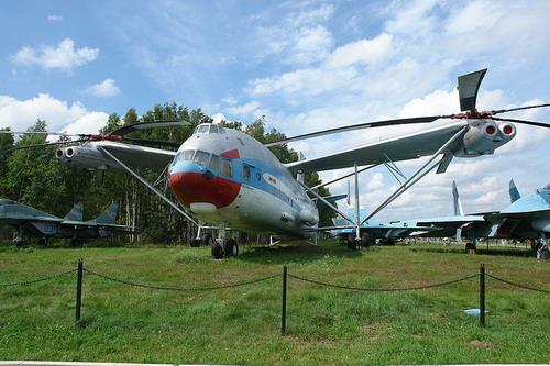 Самый большой в мире вертолёт. МИ-12