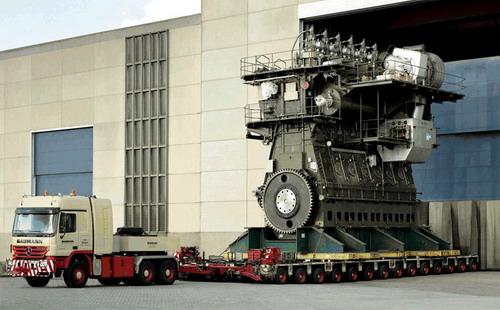 Самые большие в мире двигатели внутреннего сгорания производит финская фирма...