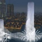Dubai Fountain - самый дорогой фонтан мира