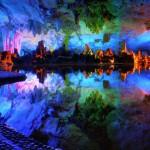 Пещера камышовой флейты в Китае