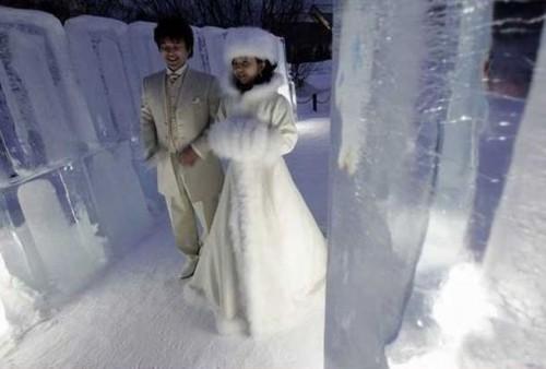 Первая свадьба в Антарктиде