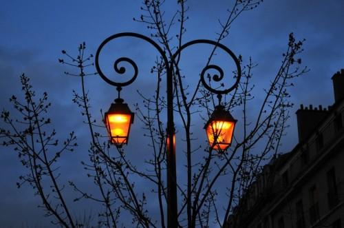 Первый в мире фонарь