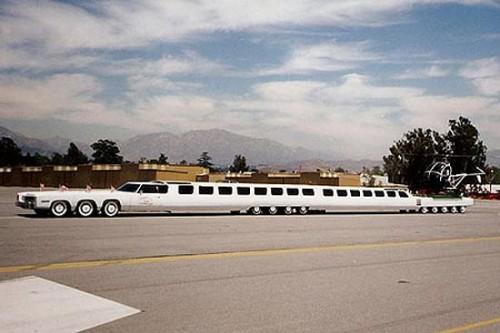 Самый большой лимузин