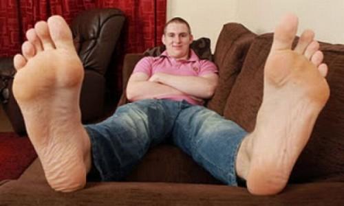 большой размер ноги