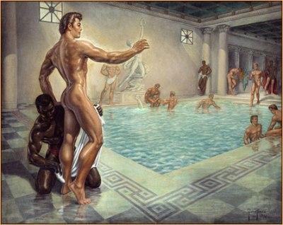 Как начинался купальник
