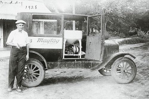 Самая первая стиральная машина