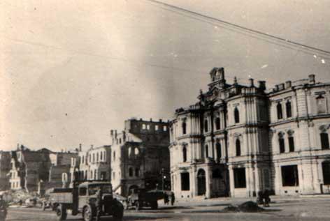 Крещатик - главная улица Киева