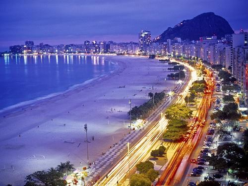 Copacabana Beach, Rio de Janeiro, Brazil