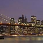 Бруклинский мост в Нью Йорке