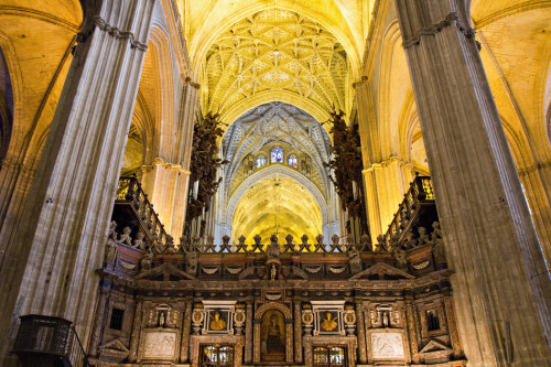 Nave of the Cathedral of Seville