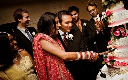 Традиционная индийская свадьба