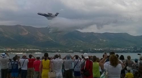 Самый быстрый пожарный самолет