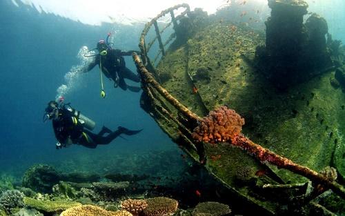 Подводные достопримечательности Крыма