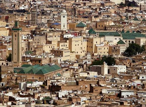Город Фес, Марокко