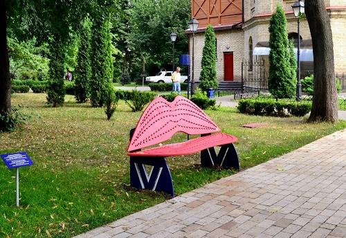 Самые романтические лавочки Киева