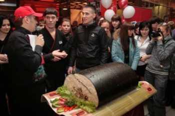 Самые большие суши