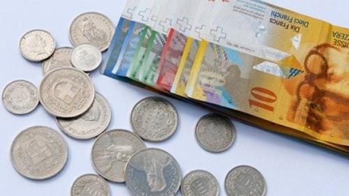1 швейцарский франк